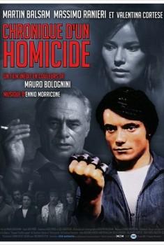 Chronique d'un Homicide (1972)