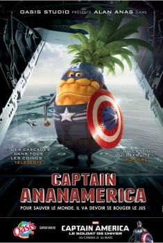 CAPTAIN ANANAMERICA (2014)