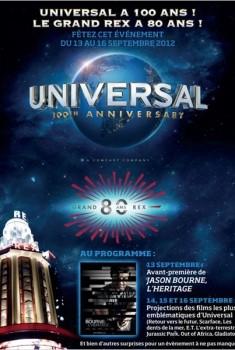 100 ans Universal - Pass 1 jour (Samedi) (2012)