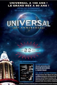100 ans Universal - Pass 4 jours (2012)