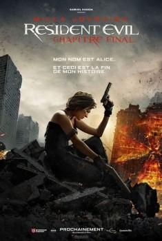 Resident Evil : Chapitre Final (2017)